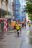 2015年3月3日 和谐马拉松在日内瓦 瑞士 免版税库存图片