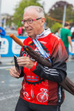 2015年3月3日 和谐马拉松在日内瓦 瑞士 免版税库存照片