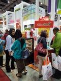 7月27日2016在KLCC的马来西亚国际食物&饮料国际博览会 免版税库存照片
