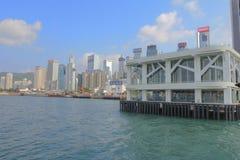 10月1日2014新的湾仔码头 库存照片