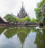 2014年9月14日 真实的寺庙是一个最巨大的examp 免版税库存图片