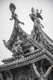 2014年9月14日 真实的寺庙是一独特的寺庙completel 免版税库存图片