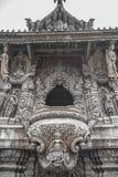 2014年9月14日 真实的寺庙是一独特的寺庙completel 免版税图库摄影