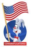 7月4日 美国独立日的庆祝 库存照片