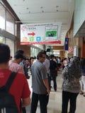 7月27日2016马来西亚国际食物&饮料Trafe公平(MIFB)在KLCC 免版税库存图片