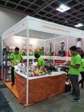 7月27日2016马来西亚食物&饮料Trafe公平在KLCC 免版税图库摄影