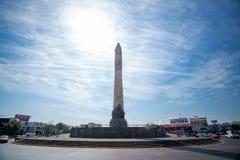 2017年1月13日 Glorieta Ninos英雄,瓜达拉哈拉,哈利斯科州,墨西哥 免版税库存照片