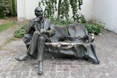 1月Karski -克拉科夫-波兰的雕象 库存图片
