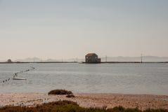 3月Menor的海景在穆尔西亚 免版税图库摄影