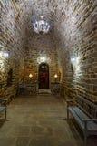 3月Sargiz历史教会在乌尔米耶 伊朗 库存图片