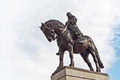 1月Zizka雕象 免版税库存照片