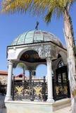 庭院在教会里,内盖夫加利利,以色列的Cana 图库摄影