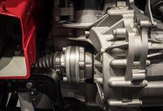 有一辆现代汽车的幅射器的引擎 图库摄影