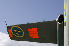 有三个冠的机翼 库存照片