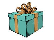 有丝带的礼物盒 免版税库存照片