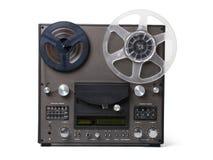 有两卷的模式音乐播放器磁带的 免版税库存图片