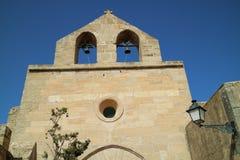 有两响铃的教会 库存图片