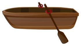 有两支桨的划艇 皇族释放例证