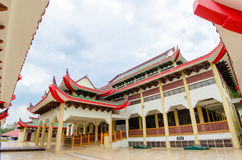 有中国建筑学的清真寺 图库摄影