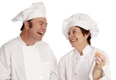 有主厨的乐趣 图库摄影