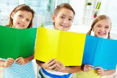 快乐的学习者 免版税库存图片