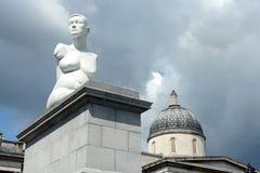 有争议的雕塑 免版税库存图片