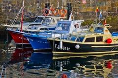 在休息的小船 免版税库存图片