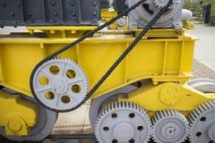 链子、嵌齿轮,齿轮和这样 免版税图库摄影
