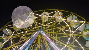有人的月神公园重要人物反对满月 一个超现实主义的看法 股票录像