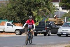 有人的私有自行车 库存图片