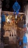 有伪造的摩洛哥闪亮指示的界面 图库摄影