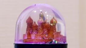 有俄国大教堂里面的玻璃球玩具 股票录像