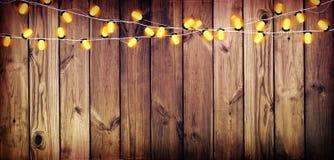 有光的诗歌选 背景老木 庆祝的光 库存图片