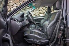 有典雅和豪华内部的巴法力亚装备精良的汽车 图库摄影