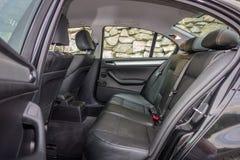 有典雅和豪华内部的巴法力亚装备精良的汽车 免版税库存照片