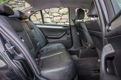 有典雅和豪华内部的巴法力亚装备精良的汽车 免版税库存图片