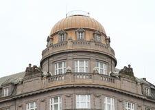 有冠的屋顶 库存图片