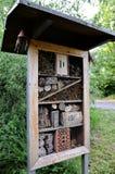 有几隔间的昆虫旅馆 库存照片