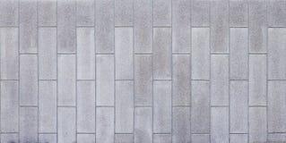 有凹线线的混凝土墙 免版税图库摄影