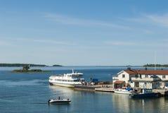 Arholma斯德哥尔摩群岛 免版税库存图片