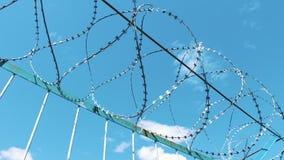 有刺的范围电汇 操刀疆土 监狱企业 参观疆土的禁止 安全 股票录像