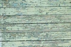 有削皮油漆的老委员会 免版税库存图片