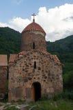 有十字架的Dadivank修道院 免版税库存照片
