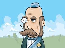 有单片眼镜的公爵 免版税库存图片