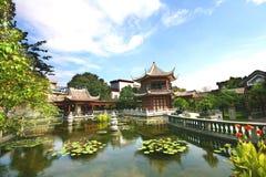 有历史中国的庭院 免版税库存照片