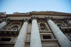 有历史大厦的门面 免版税库存照片