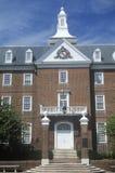 有历史的亚历山大法院大楼 免版税库存图片