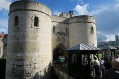 有历史的伦敦塔 免版税图库摄影