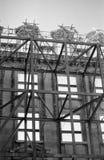 有历史的伦敦脚手架 免版税库存照片