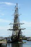 有历史的商船复制品-- 友谊 免版税库存照片